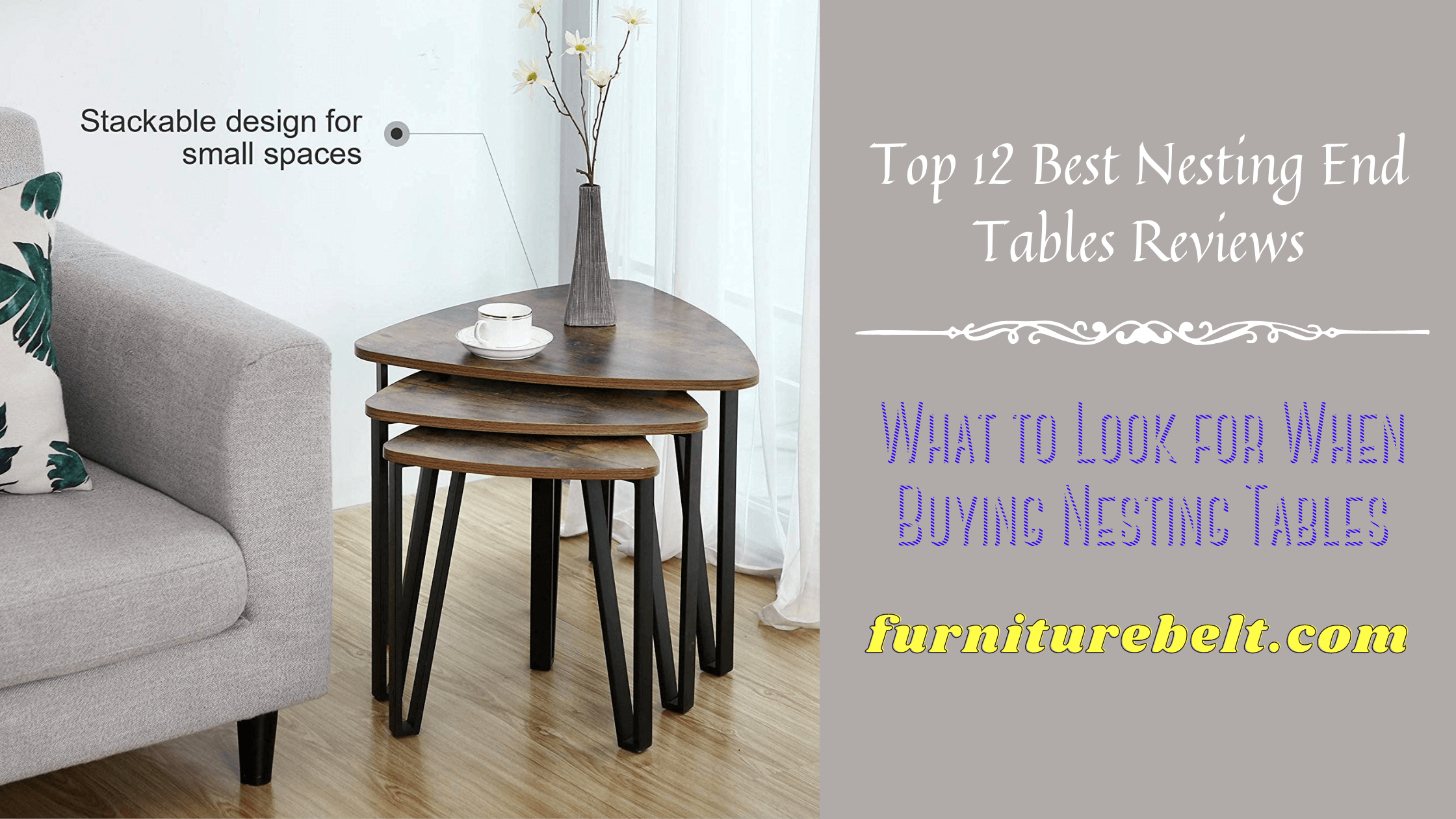 Best Nesting End Tables