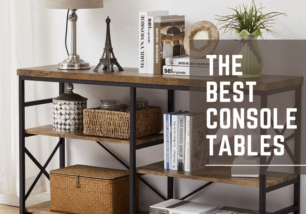 Best sofa console table for apartment living room