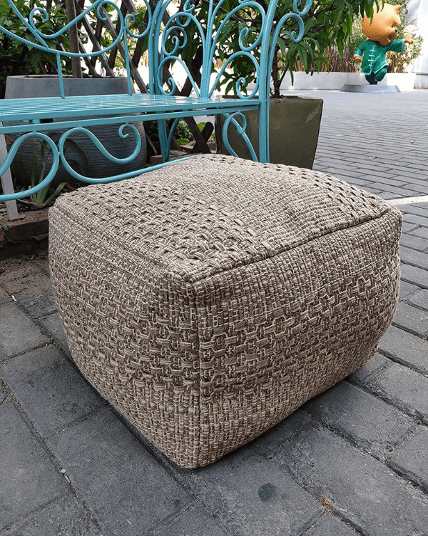 How To Make An Outdoor Pouf Ottoman