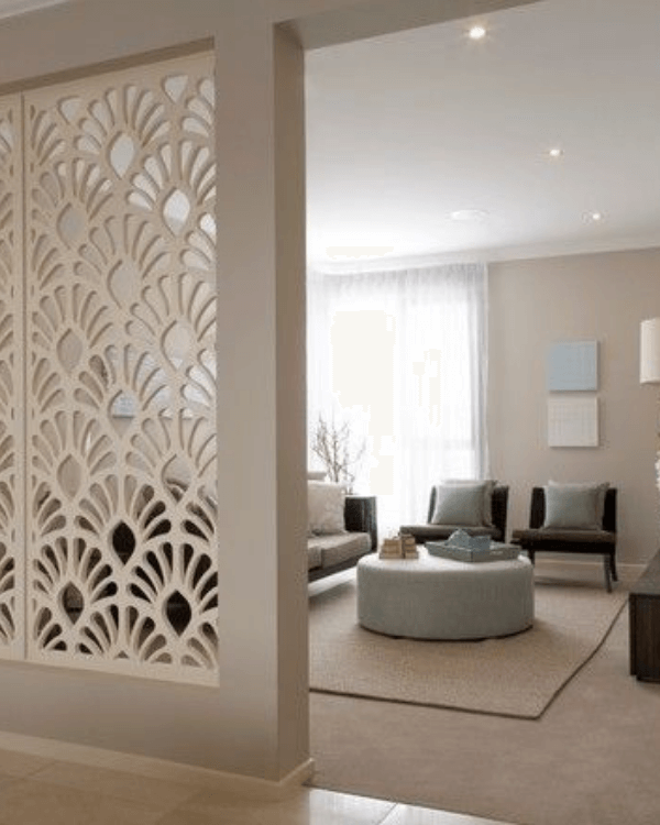 How to use wooden room divider